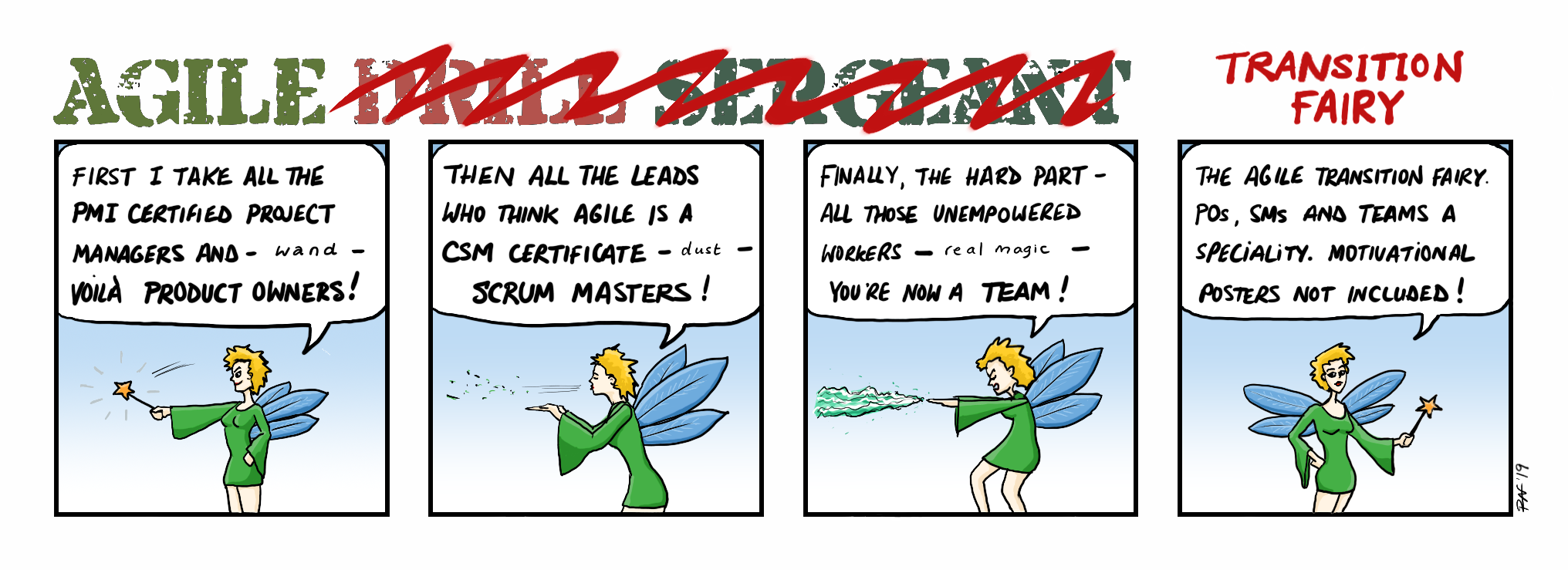 Agile Transition Fairy